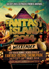 Fantasy Island   16/17.05.14 - Fantasy Island 14 - 6x CD PACKS - SPECIAL OFFER