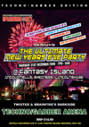 Pleasuredome   31.12.2009 - New Years Eve TECHNO/GABBA  - CD4